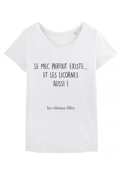 Tee-shirt col rond Le mec parfait existe