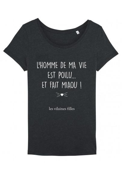 Tee-shirt col rond L'homme de ma vie