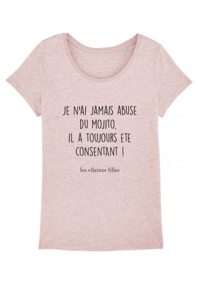 Tee-shirt col rond Abus de Mojito bio