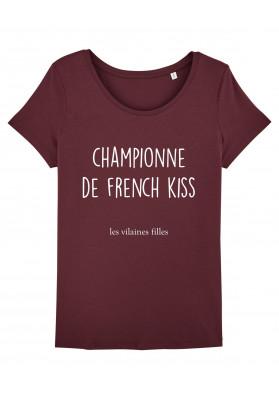 Tee-shirt col rond Championne