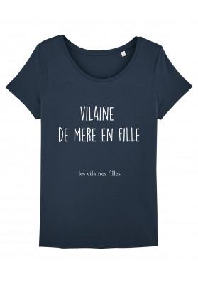 Tee-shirt col rond Vilaine de mère en fille