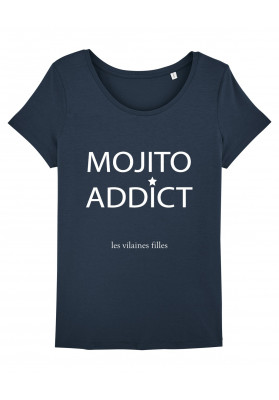 Tee-shirt col rond Mojito addict bio