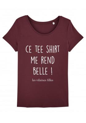 Tee-shirt col rond Teeshirt qui rend belle