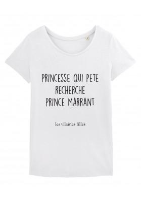 Tee-shirt col rond Prince marrant