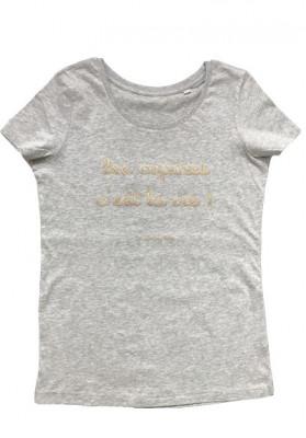 Tee-shirt col rond Les copines c'est la vie