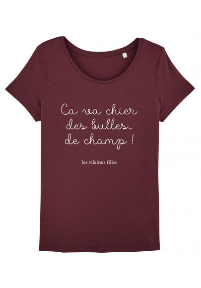 Tee-shirt col rond Ca va chier bio