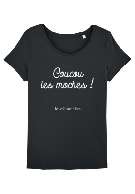 Tee-shirt col rond Coucou les moches bio
