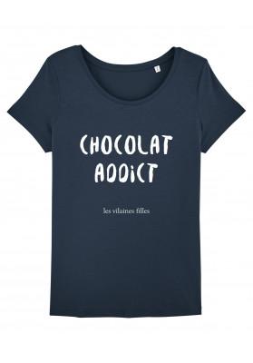 Tee-shirt col rond Chocolat addict bio