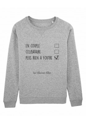 Sweat col rond En couple bio
