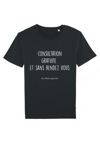 Tee-shirt homme Consultation gratuite bio