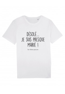 Tee-shirt homme  En couple bio