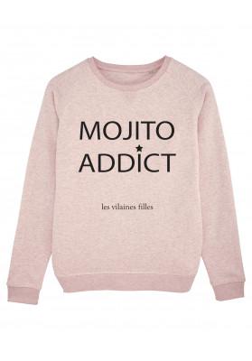 Sweat col rond mojito addict bio