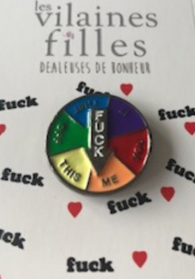 Pin's Fuck roulette