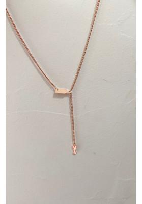 Collier apéro métal rose Gold