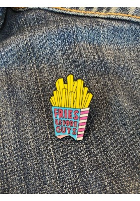 Pin's Fries before guys