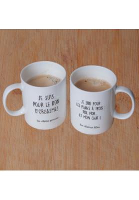 Coffret de 2 mugs pour couple