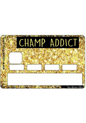Sticker pour cb Champ addict