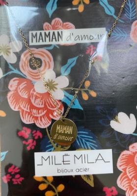 Collier maman d'amour Mile mila