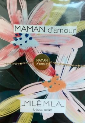 Bracelet Maman d'amour Mile mila