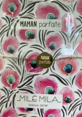 Bracelet Maman parfaite Mile mila