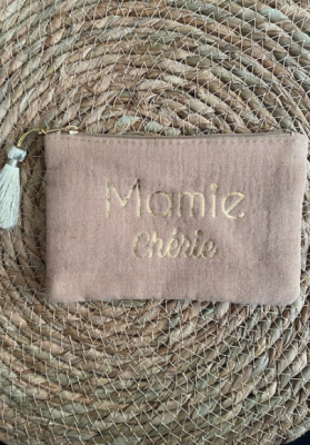 Pochette Mamie chérie Capuccino Taille S  Mila