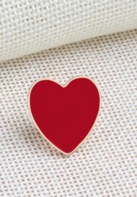Pin's coeur sur toi