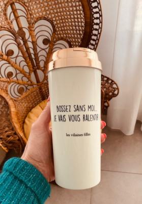 Mug take away Bossez sans moi