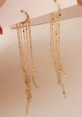Boucles d'oreilles dorées Victoire