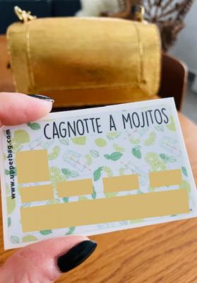 Sticker pour cb Cagnotte à Mojitos