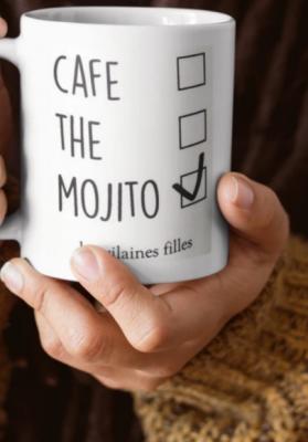 Mug Café, thé et Mojito