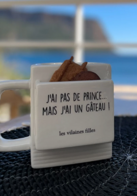 Mug J'ai pas de prince mais j'ai un gâteau