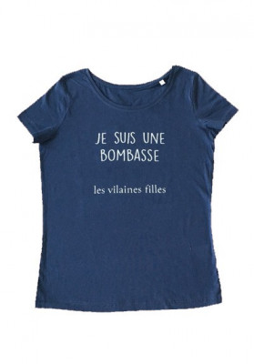 Tee-shirt col rond Je suis une bombasse