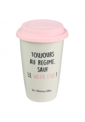 Mug Take away Toujours au regime