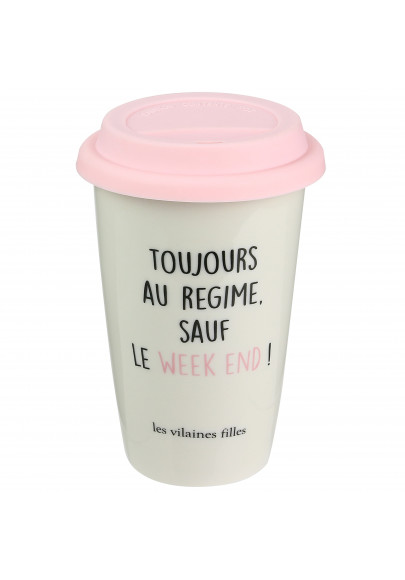 Mug Take away Toujours au régime