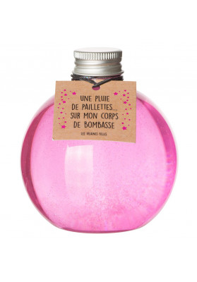 Gel douche à paillettes BUBBLE GUM